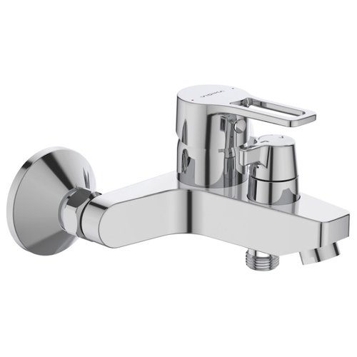Смеситель для ванны с душем VIDIMA Хайп BA399AA однорычажный хром смеситель для ванны коллекция орион b4225аа ba005aa однорычажный хром vidima видима