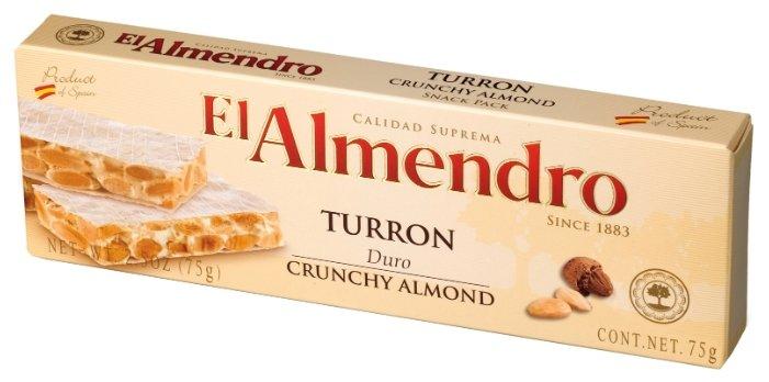 Туррон El Almendo с миндалем, 75г