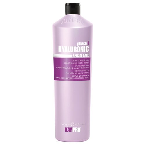 KayPro шампунь Hyaluronic для плотности для тонких, лишенных густоты и ослабленных волос 1000 мл краска для волос kaypro kaypro ka037lwclud4