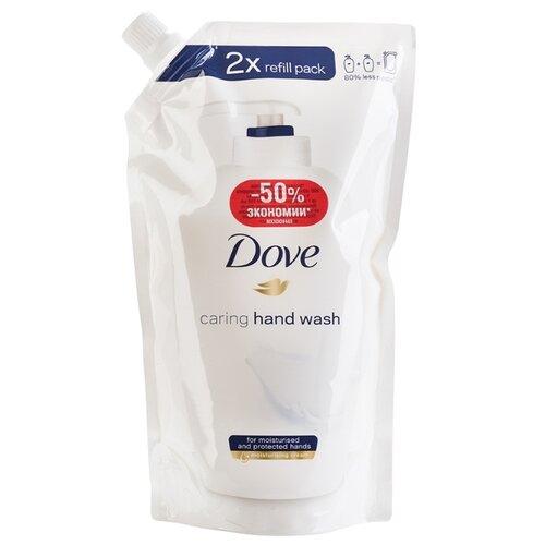Крем-мыло жидкое Dove Красота и уход 500 мл запасной блок дойпак/рефиллМыло<br>