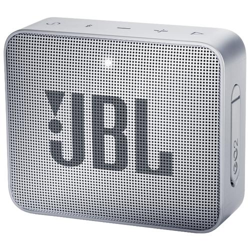 Портативная акустика JBL GO 2 Ash Gray по цене 2 190