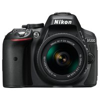 Фотоаппарат Nikon D5300 Kit 18-55mm VR AF-P Black