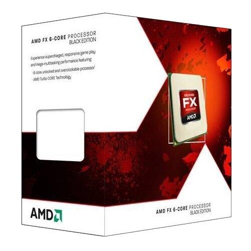 Купить Процессор AMD FX-6300 Vishera (AM3+, L3 8192Kb) BOX