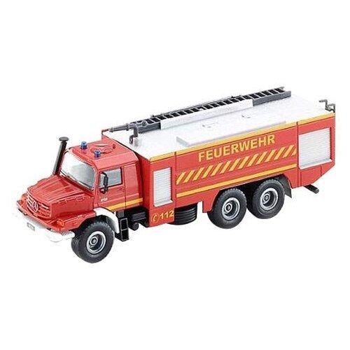 Пожарный автомобиль Siku Mercedes-Benz Zetros (2109) 1:50 красный