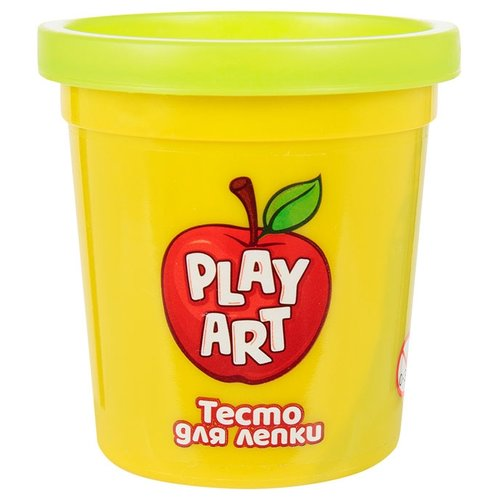Масса для лепки Play Art 1 банка 85 г зеленый (PA-3167-G) масса для лепки play art 1 банка 85 г оранжевый pa 3167 o