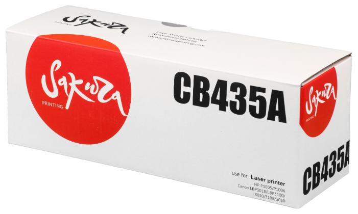 Картридж Sakura CB435A