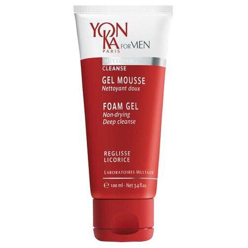 Купить Yon-Ka Очищающий гель-мусс для лица For Men Gel Mousse 100 мл