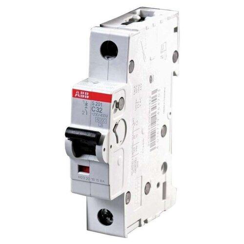 Автоматический выключатель ABB S201 1P (C) 6kA 25 ААвтоматические выключатели<br>