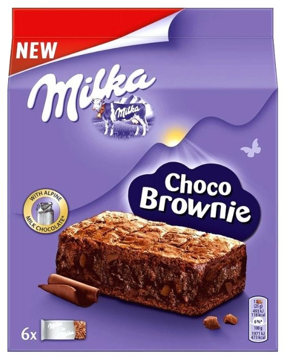 Milka Choco Brownie 150 грамм 1 шт.