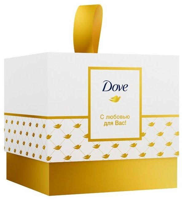 Набор Dove С любовью для Вас: крем-мыло Красота и уход, крем