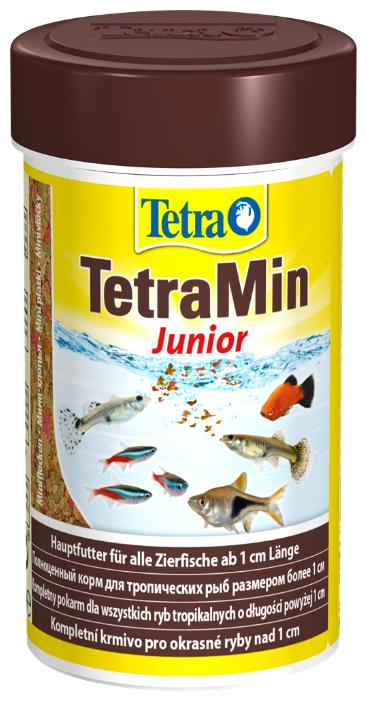 Сухой корм Tetra TetraMin Junior для рыб