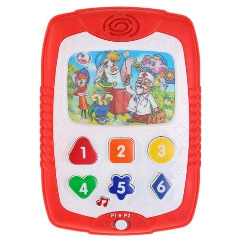 Планшет Умка Стихотворения Корнея Чуковского белый/красный сенсорный планшет умка азбука и счет 43 стихотворения