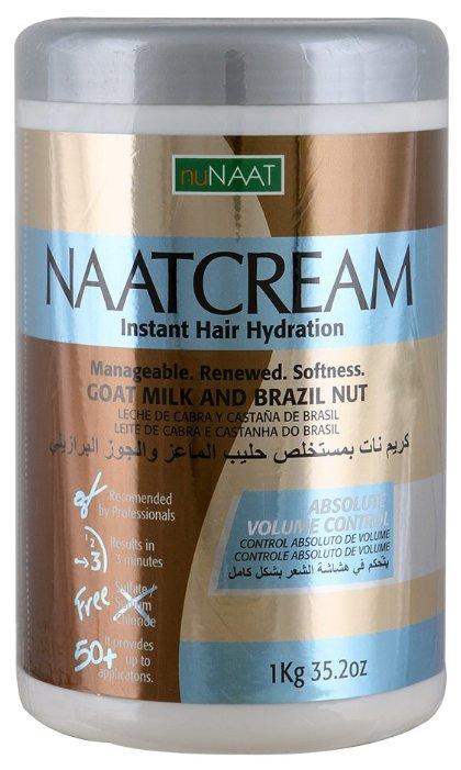 NuNAAT Naat Cream Маска для волос на основе козьего молока и бразильского ореха