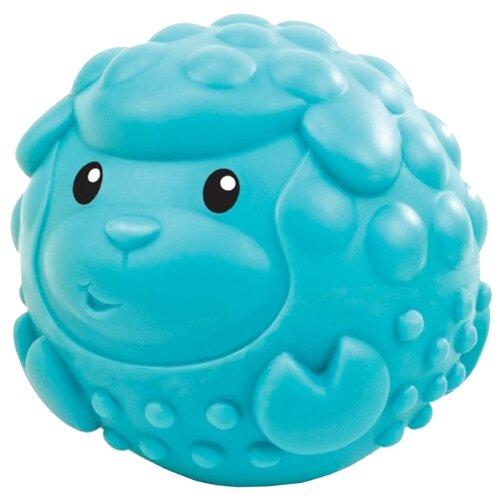 Купить Развивающая игрушка B kids Sensory - Овца голубой, Развитие мелкой моторики