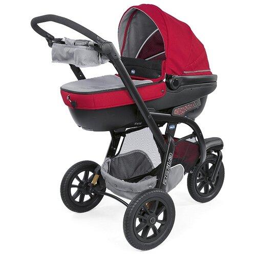 Универсальная коляска Chicco Activ3 (3 в 1) red berryКоляски<br>