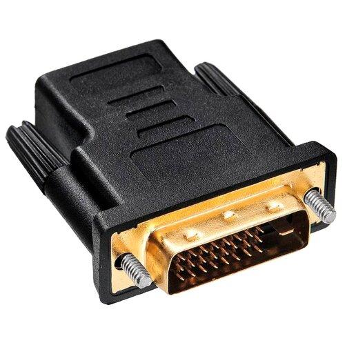 Купить Переходник Buro HDMI - DVI-D (HDMI-19FDVID-M_ADPT) черный