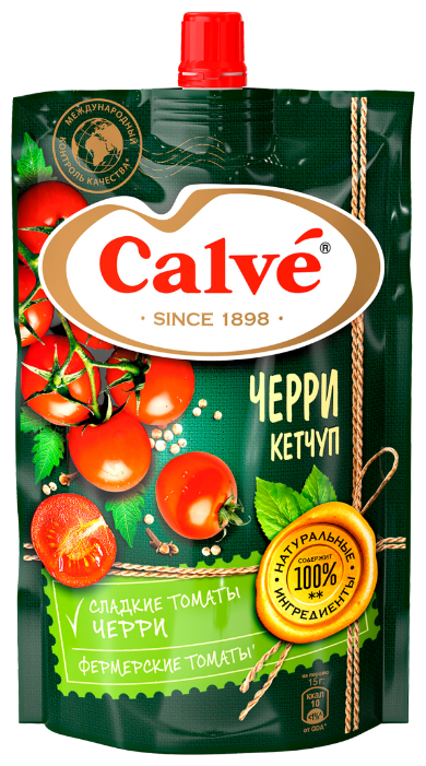Кетчуп Calve Черри