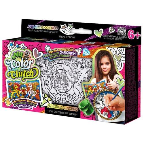цена на Danko Toys Пенал-раскраска My Color Clutch Пони (CCL-01-01)