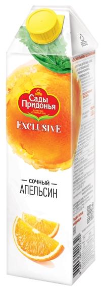 Сок Сады Придонья Exclusive Апельсин, без сахара, 1 л
