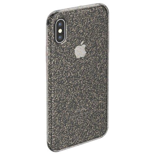 Фото - Чехол-накладка Deppa Chick Case для Apple iPhone X/Xs черный чехол deppa air case для apple iphone x xs синий