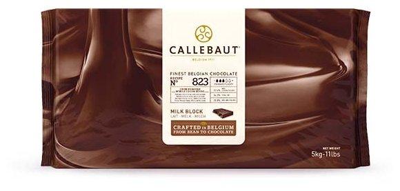 Шоколад Callebaut 823 молочный