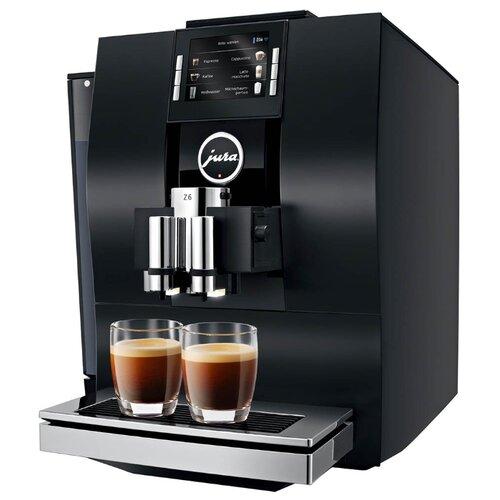 Кофемашина Jura Z6 Satinsilber, черный по цене 199 900
