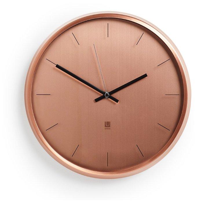 Часы настенные кварцевые Umbra META 1004385-880