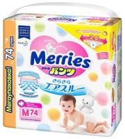 сухая молочная смесь Merries трусики M (6-11 кг) 74 шт.
