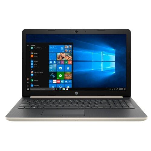 Ноутбук HP 15-da0187ur (Intel Core i3 7020U 2300 MHz/15.6/1920x1080/4GB/128GB SSD/DVD нет/NVIDIA GeForce MX110/Wi-Fi/Bluetooth/Windows 10 Home) бледно-золотистый/пепельно-серебристыйНоутбуки<br>