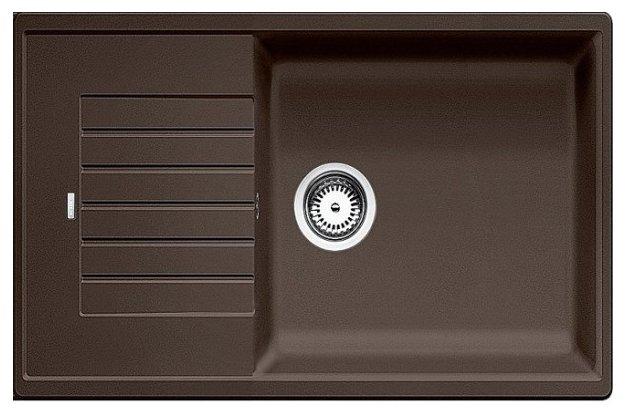 Врезная кухонная мойка Blanco Zia XL 6 S Compact 78х50см искусственный гранит
