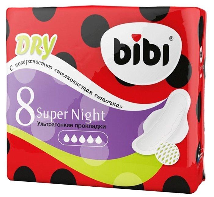 Bibi прокладки Super Night Dry