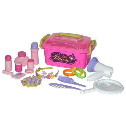 Купить Салон красоты Полесье Маленькая принцесса №7 (53497), Играем в салон красоты