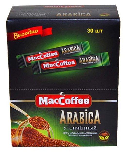 Растворимый кофе MacCoffee Arabica, в стиках