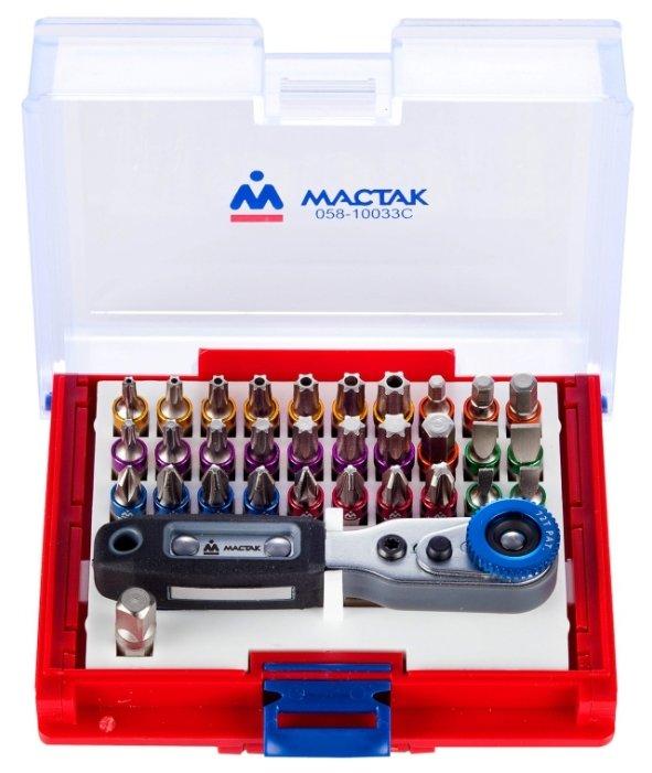 Отвёртка со сменными битами МАСТАК 058-10033C