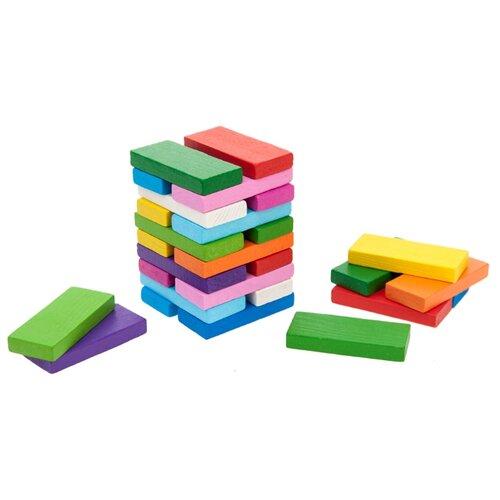 Кубики Томик Цветные плашки 6675 конструктор томик кубики цветные 20 элементов 2323