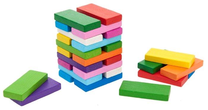 Кубики Томик Цветные плашки 6675