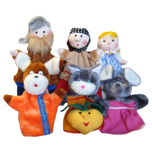 Тайга Набор перчаточных кукол Репка (4002)