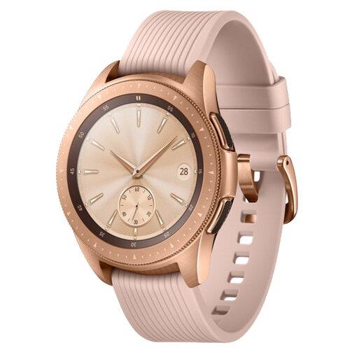 Купить Часы Samsung Galaxy Watch (42 mm) rose gold/pink beige