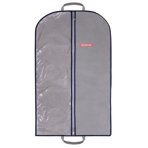 HAUSMANN Чехол для одежды HM-701002 100x60 см серый