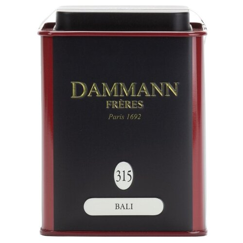 чай зеленый ароматизированный дамман bali бали жестяная банка 90 гр Чай зеленый Dammann Frères Bali, 90 г