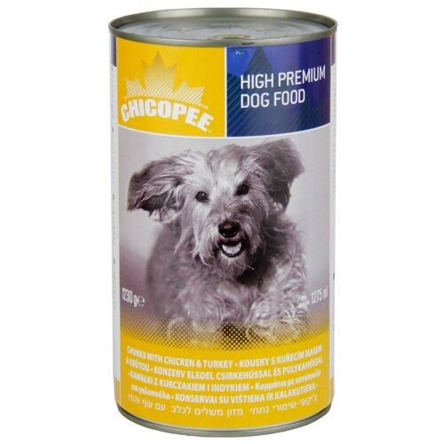 Влажный корм для собак Chicopee курица 1.23 кг