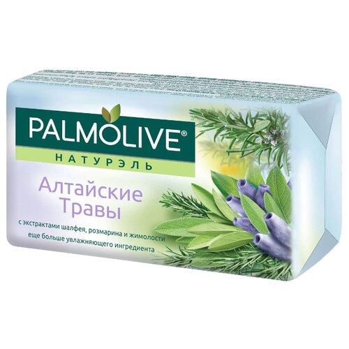 Мыло кусковое Palmolive Натурэль Алтайские травы с экстрактами шалфея, розмарина и жимолости 90 гМыло<br>