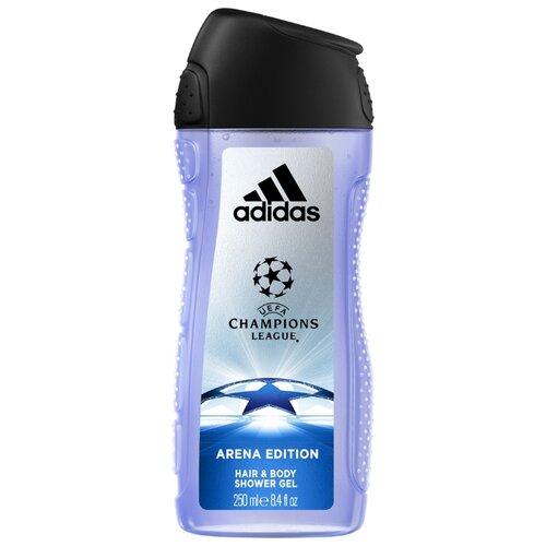 Гель для душа и шампунь Adidas UEFA champions league Arena edition 250 млДля душа<br>