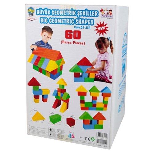 Кубики pilsan Конструктор 03-234, Детские кубики  - купить со скидкой