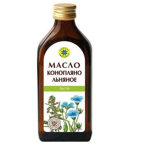 Компас Здоровья Масло конопляно-льняное 0.25 л.