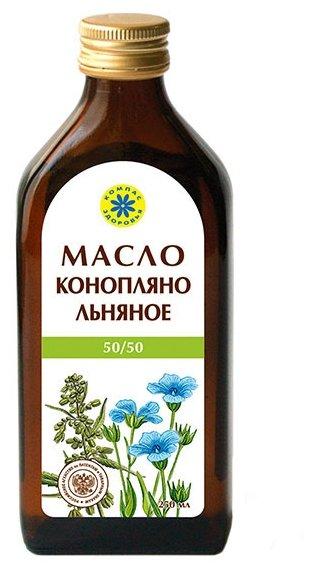 Компас Здоровья Масло конопляно-льняное