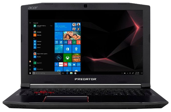 Ноутбук Acer Predator Helios 500 PH517-51-74ZA / NH.Q3PER.004 (17.30