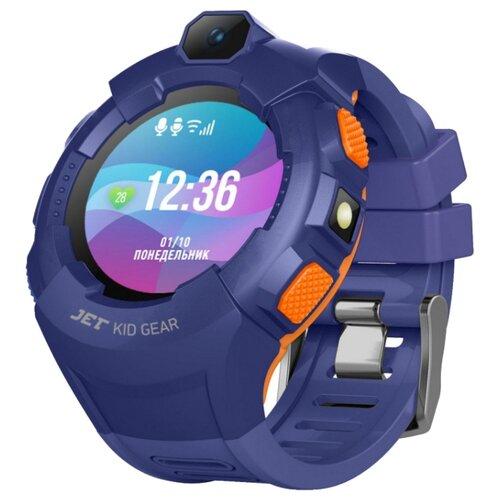 Часы Jet Kid Gear синий/оранжевый jet kid gear red black