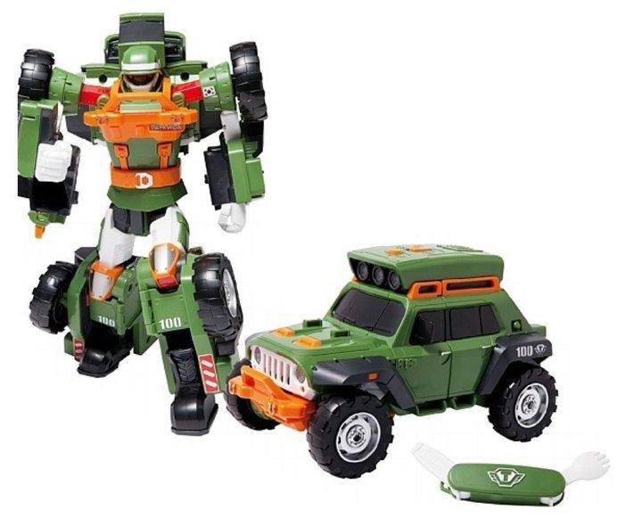 Интерактивная игрушка робот-трансформер YOUNG TOYS Tobot K со звуком и светом 301042