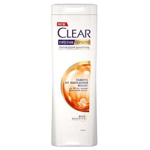 Clear шампунь против перхоти для женщин питающий Защита от выпадения волос, 400 мл ducray неоптид лосьон от выпадения волос для мужчин 100 мл